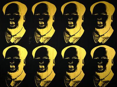 Knowledge Bennett, 'MaoTrump Negative (Gold)', 2017