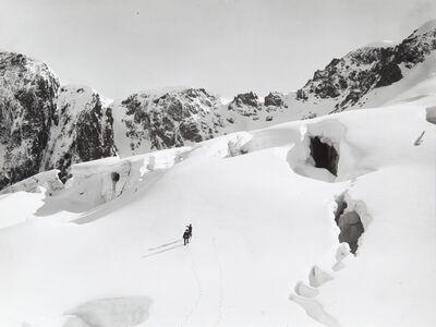 Vittorio Sella, 'Crepacci del ghiacciaio del Chardon 3 August 1888'