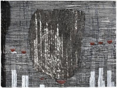 Jan Kenneth Weckman, 'Last Season (Erased First Map of Deren)', 2020