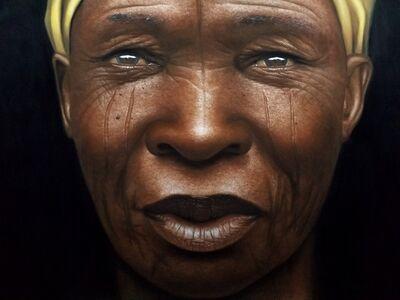 Babajide Olatunji, 'Tribal Marks Series III #52', 2019