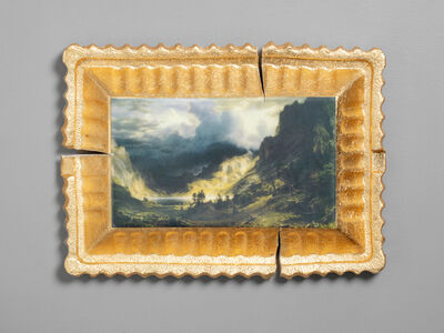 Evan Hauser, 'Preservation & Use (A Storm in the Rocky Mountains, Mt. Rosalie, Albert Bierstadt, 1866)', 2019