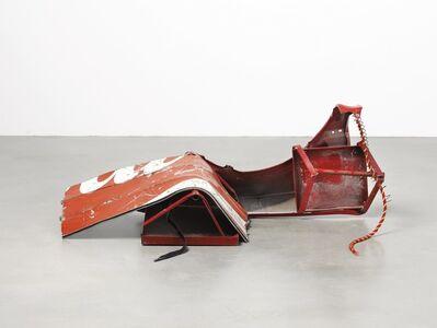 Robert Rauschenberg, 'Red Crawler Glut', 1987