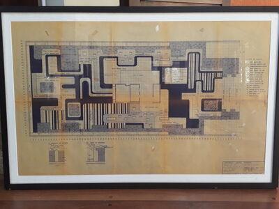 Roberto Burle Marx, 'project 1207 edificio promenade', 1971