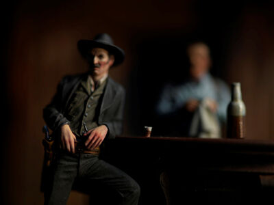 David Levinthal, 'History, The Saloon', 2015