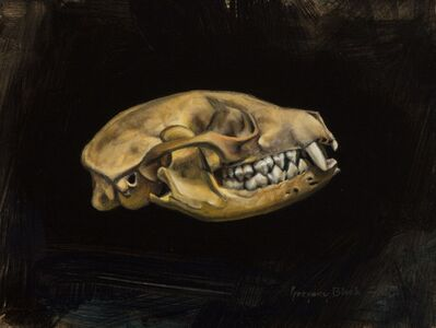 Gregory Block, 'Fox Skull', 2016