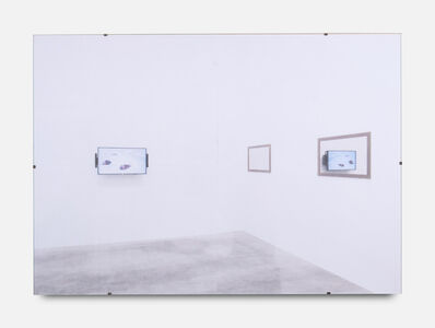 Gili Tal, 'Spaces for Reflection (The Whole World at Your Fingertips, TV Reflect)', 2019