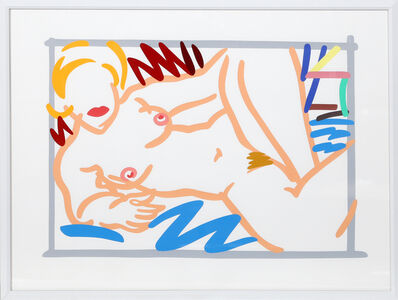 Tom Wesselmann, 'Judy on Blue Blanket', 2000