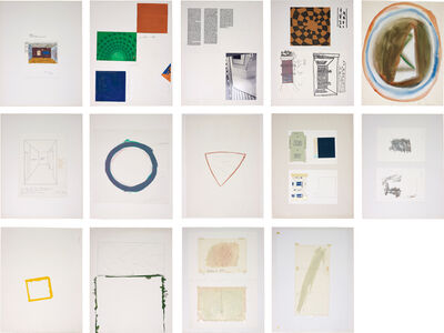Günther Förg, '14 works: Untitled'