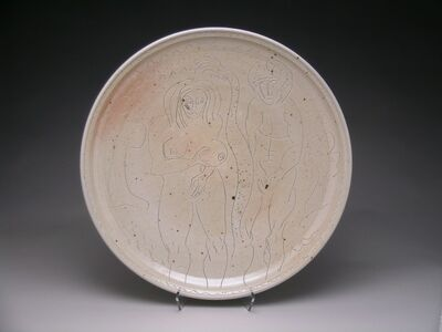 Ken Ferguson, 'Adam and Eve Platter', 1980