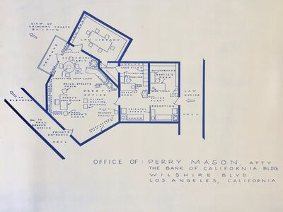 Mark Bennett, 'Office of Perry Mason', 1995