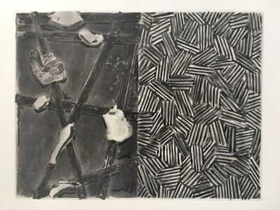 Jasper Johns, '(Untitled) from Foirades/Fizzles', 1976