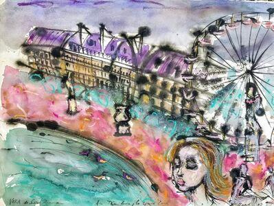 Norma de Saint Picman, 'Souvenirs de Paris - L'enfance, Les Tuileries - La Grande Roue', 2003