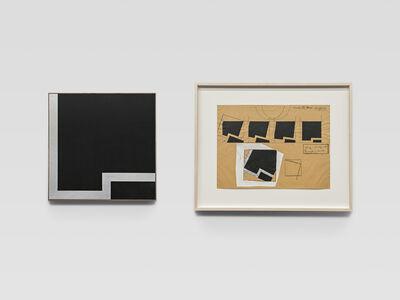 Robert C. Morgan, 'Vekso 1 + Vekso Drawing', 1971