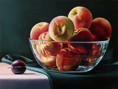 Sherrie Wolf, 'Plum and Peaches', 2018