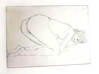 Jean Gabriel Domergue, 'Jean Gabriel Domergue - Woman - Original Etching', 1924
