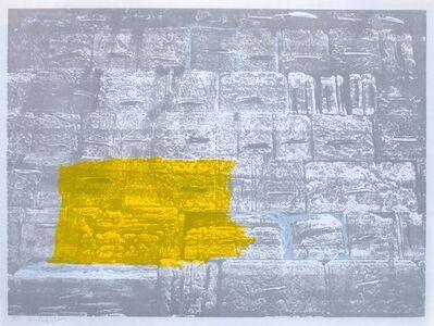 Menashe Kadishman, 'Western Wall', 1980