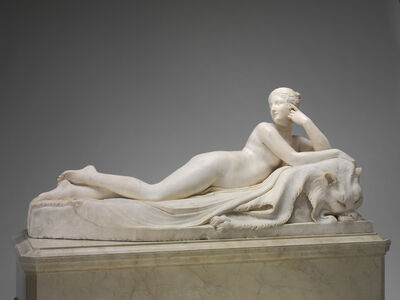 Antonio Canova, 'Naiad', model 1815/1817-carved 1820/1823