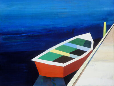 Siddharth Parasnis, 'Colorful Boats in the Bay #21', 2021