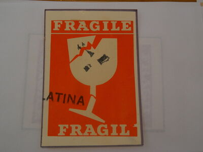 Paulo Bruscky, 'Frágil/Fragile', undated