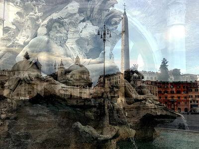 Davide Bramante, 'Roma (Fiume/Popolo)', 2019