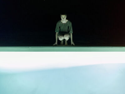 Elina Brotherus, 'Pool Night', 2011