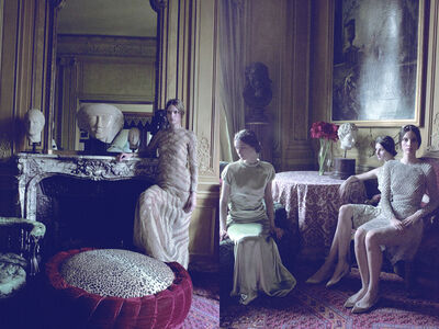 Deborah Turbeville, 'Models in Valentino, VOGUE Italia', 2011