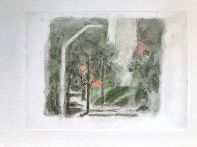 Giorgio Morandi, 'Landscape with a Red Spot', 1973