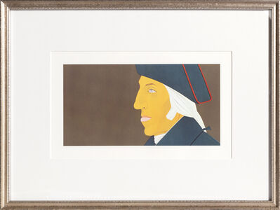 Alex Katz, 'George Washington from Kent-Bicentennial Portfolio-Spirit of Independence', 1975