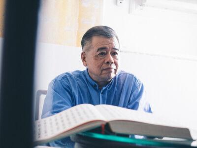 Hsieh Chun-Te, '〈無聲之四〉謝義錩'