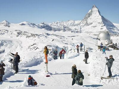 Simon Roberts, 'Gornergrat, Zermatt, Switzerland', 2016
