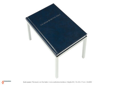 Guto Lacaz, 'The Book is on the table'