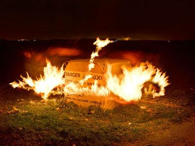 Shai Kremer, 'Fire Zone Marker, 2015', 2015