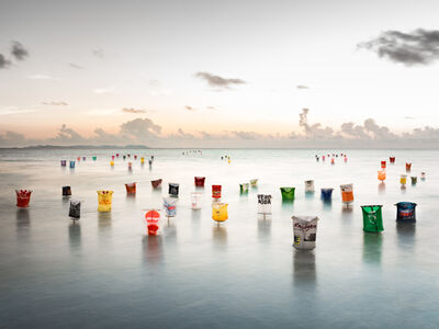 Dirk Krüll, 'PLASTIC ARMY-INVASION-SEA', 2017
