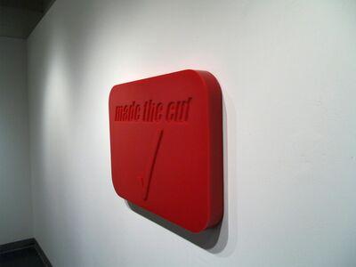 Craig Le Blanc, 'Made the Cut', 2002