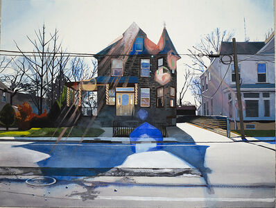 Daina Higgins, 'Livezy Street at Ridge Avenue ', 2019