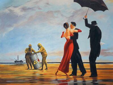 "Mason Storm, 'Mason Storm ""Toxic Beach"" X Banksy Fine Art Print Street Art Contemporary ', 2021"