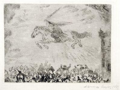 James Ensor, 'Exterminating Angel', 1889