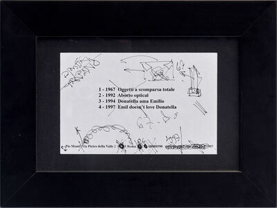 Emilio PRINI, 'Untitled ', 1997