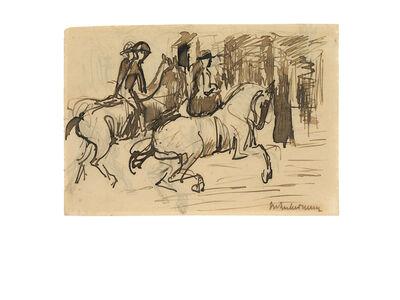 Max Liebermann, 'Der Ausritt', ca. 1910