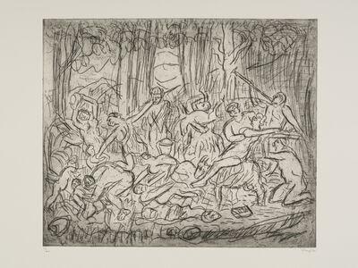 Leon Kossoff, 'The Triumph of Pan No. 3', 1998