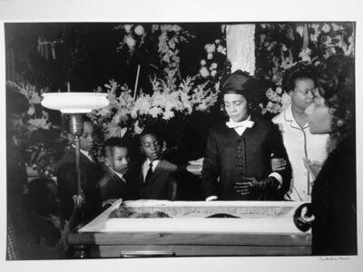 Constantine Manos, 'Martin Luther King Funeral, Atlanta, Georgia', 1968