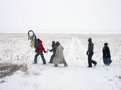Mitch Epstein, 'Standing Rock Prayer Walk, North Dakota 2018', 2018