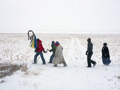 Mitch Epstein, 'Standing Rock Prayer Walk, North Dakota 2018', 2018