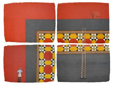 Desmond Lazaro, 'Chettinad Tile III (4-parts)', 2009