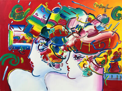 Peter Max, 'MONDRIAN LADIES', 2003
