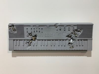 Daniel Arsham, 'Bronze and Pyrite Keyboard', 2018