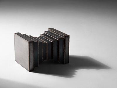 Douglas Fanning, 'Bellow - Abstract Block, Table Base & Pedestal', 2020