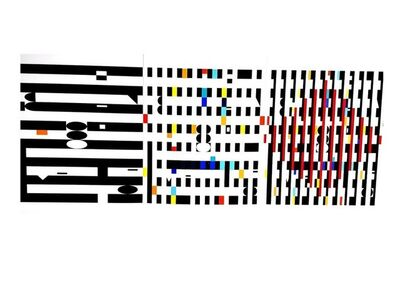 Yaacov Agam, 'Yaacov Agam - Abstract Composition - Original Lithograph', 1971