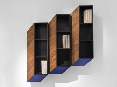 Charles Kalpakian, ''Cinétisme II' Wall Cabinet by Charles Kalpakian', 2015