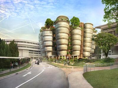 Thomas Heatherwick, 'Learning Hub, Nanyang Technological University, Singapore', 2011-2014